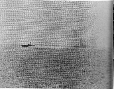 North_Vietnamese_P-4_under_fire_from_USS_Maddox_(2_August_1964)